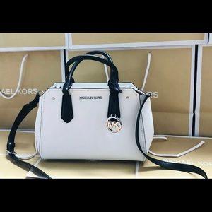 New $248 Michael Kors Hayes Handbag MK Purse Bag